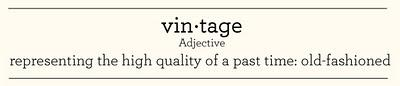 Wedding Terminology: Vintage and Rustic