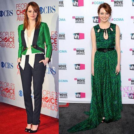GREENFab Find Friday: Emma Stones Best Fashion Moments