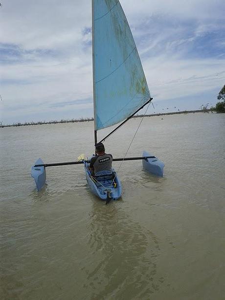 Sailing kayak trimaran plans Details | sht