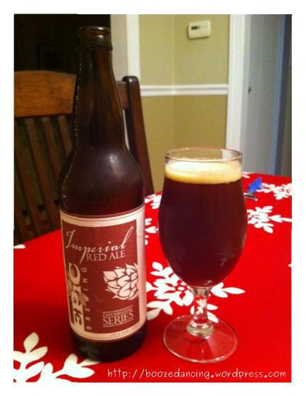 Beer Review – Epic Brewing Imperial Red Ale