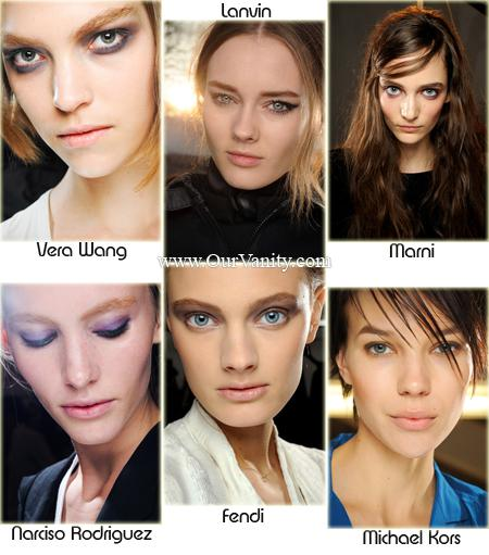 Fall/Winter 2011-2012 Makeup Trend – VARICOLORED SMOKED EYES