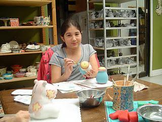 Crackpot pottery and ceramic painting
