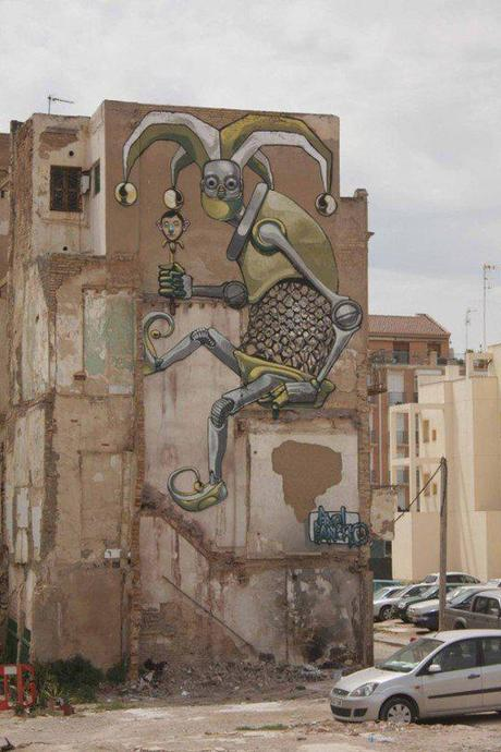 Street robots in Turin, Italy | Wall to Watch