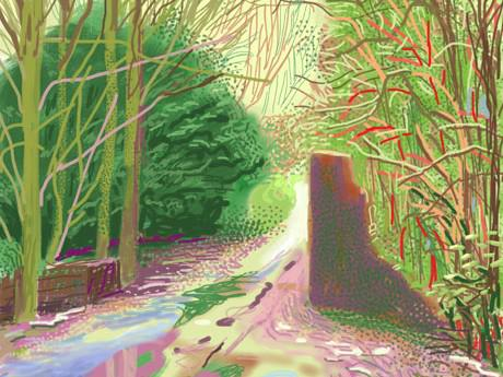 Does David Hockney: A Bigger Picture cement the Yorkshireman's reputation as Britain's greatest living artist?