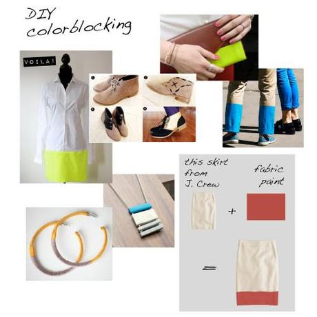 Wear This Now – DIY Colorblocking