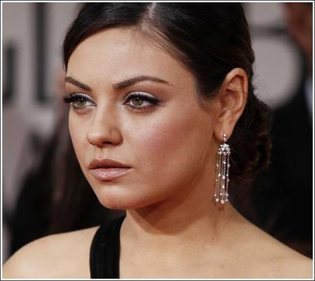 Get The Look:Golden Globes : Mina Kunis @ Golden Globes