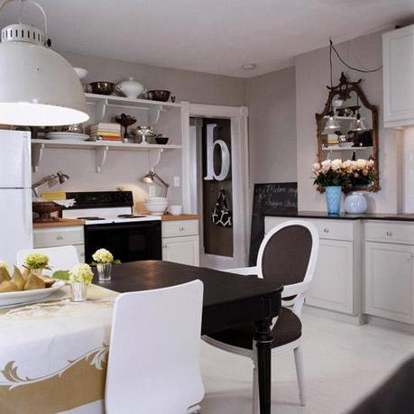 A small and recently renovated starter home with loads of chic