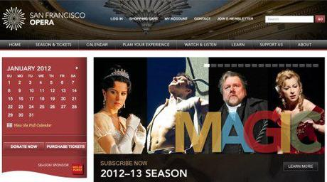 Tosca goes to the West Coast in Nov 2012