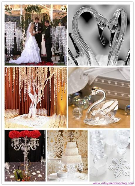 Crystal decorations and wedding accessories have gained immense popularity