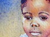 Girl Braids Mini Painting