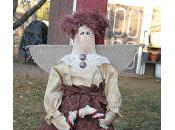 Christmas Primitive Angel Doll