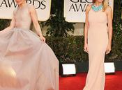 2012 Golden Globe Awards Fashion Roundup: Blushing Moments