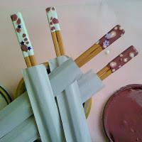 DIY Decorated Chopsticks