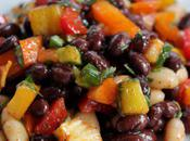 Food: Mexican Bean Salad.