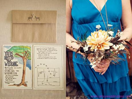 DIY Laid-back Farm Wedding Enjoyed in Michigan