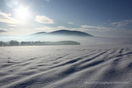Photo - mist and snow at Wiston,near Biggar