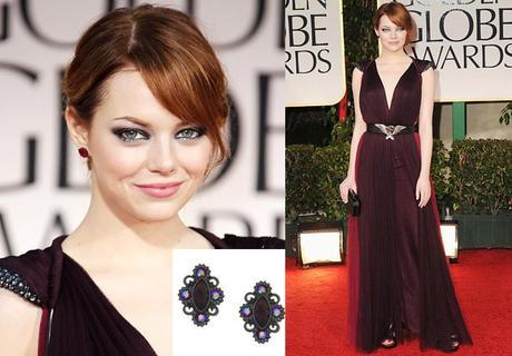 Emma Stone Fab FindsFab Find Friday: All That Glitters at the Golden Globes
