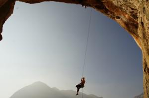 rock climbing Turkey