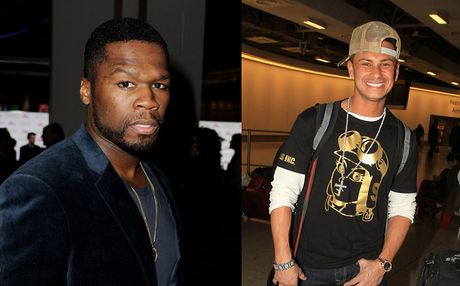 50 Cent Teams With Pauly D. For New Custom Headphones