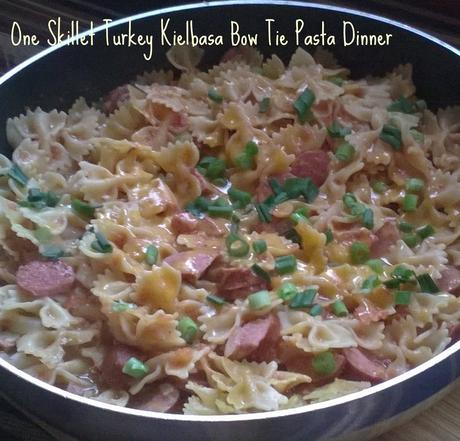 one pot pasta skillet, easy weeknight dinner