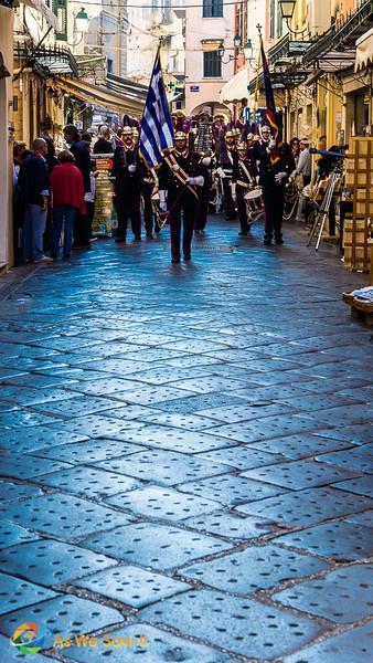 Corfu's Ohi Day parade begins