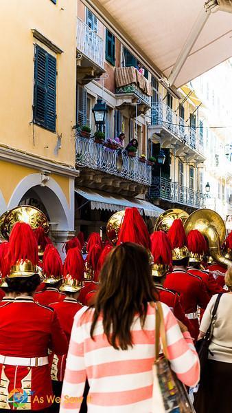 Corfu's Ohi Day paraders