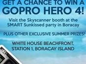 Chance GoPro Hero from Skyscanner This Labor Weekend Boracay!