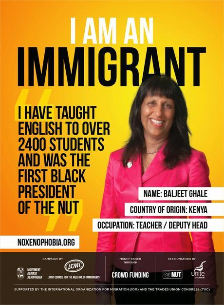 A pro-immigration campaign takes off in the UK