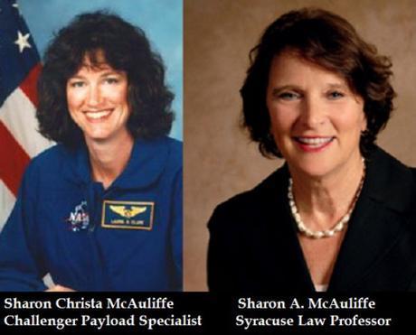Sharon Christa McCauliffe & Sharon McAuliffe
