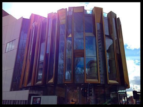 outside theatre royal glasgow balcony bites glasgow foodie food and drink glasgow food blog