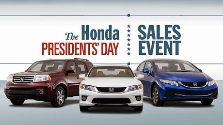 Honda Sales Event for Special Selling