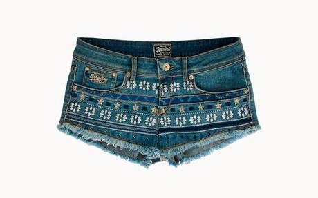 Superdry S/S15 Collection - Available Online For Quick Buys Now - SUPERDRY Cut-Off Denim Shorts