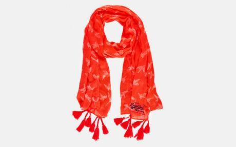 Superdry S/S15 Collection - Available Online For Quick Buys Now :  SUPERDRY Cotton Scarfs With Tassels
