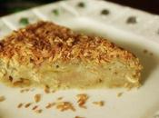 Rhubarb Streusel Cake with Coconut Flakes Gluten Free Option