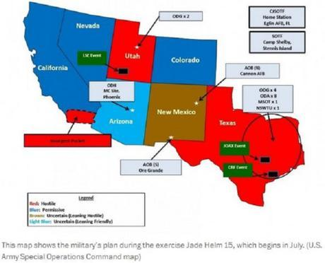 Operation Jade Helm, Posse Comitatus, and why we should be concerned