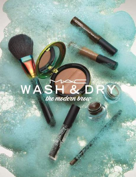 MAC WASH AND DRY BROW styled