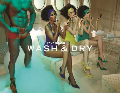MAC WASH AND DRY poster