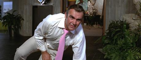 Connery's cringe matches mine when I first saw that goddamn tie.