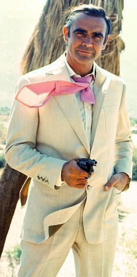 Sean Connery as James Bond in Diamonds are Forever (1971).