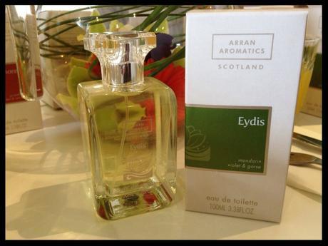 eyedis arran aromatics food drink glasgow foodie summer scent
