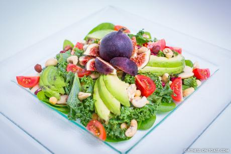 Fitness On Toast Faya Blog Girl Healthy Nutrition Food Salad Superfood Bean Plant Protein Rich Pulses Diet Fuel Tasty Cooking Olive Oil Kale Spinach Nuts