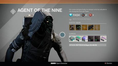 Destiny: Xur location and inventory for May 8, 9 – Thunderlord edition