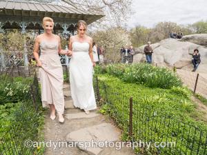 same-sex wedding central park ladies pavilion