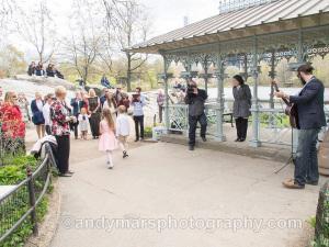 ladies pavilion musician wedding central park