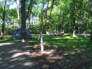 Camping Party of 29--Fort Parker State Park