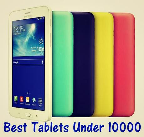Best android tablet under 10000 with sim
