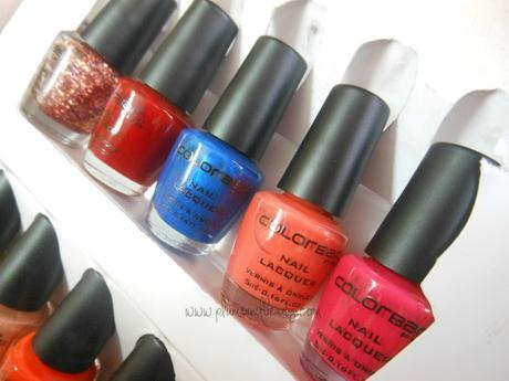 Colorbar Nail Art Mini Kit - Tentalize (Review)