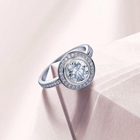Cartier Halo Engagement Ring