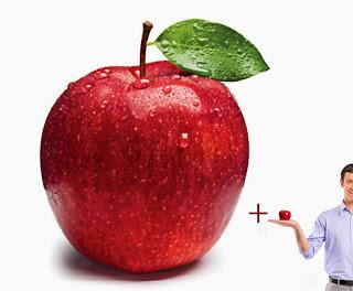 Apple + apple = one + one = imaginary number crisis