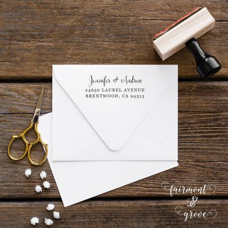 Post image for Fairmont & Grove Rubber Stamps Using Cantoni Font